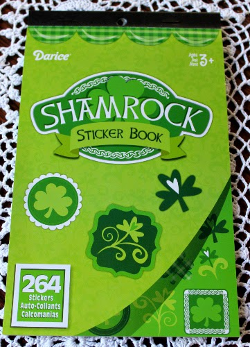 Shamrock sticker book