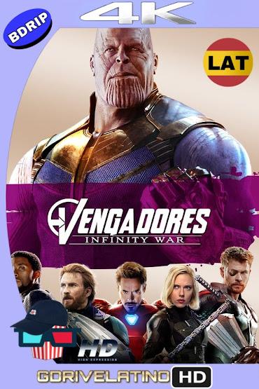 Avengers: Infinity War (2018) BDRip 4K HDR Latino-Ingles MKV