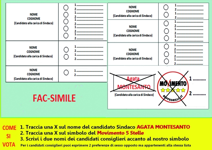 Elezioni movimento 5 stelle candidating
