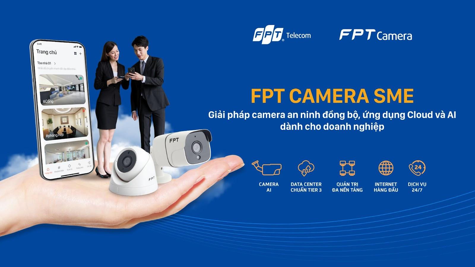 FPT Camera SME - Giải pháp camera an ninh cho doanh nghiệp vừa và nhỏ