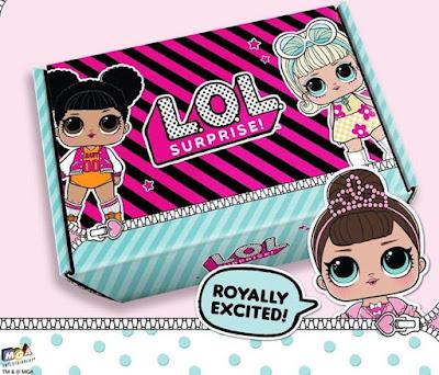 Подарочная коробка с Лол