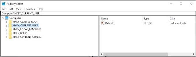Windows registry backup and Restore