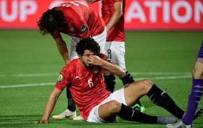 إصابة أحمد حجازي بكسر فى الأنف فى مباراة مصر وزيمبابوي