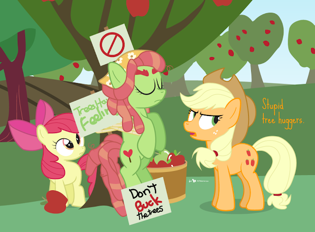 Equestria Daily Mlp Stuff Plant A Tree For Tree Hugger Event