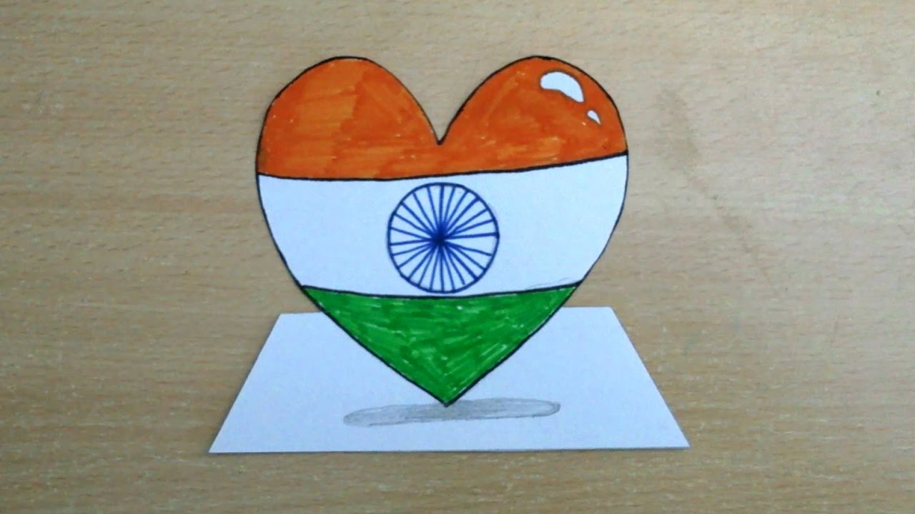 Easy drawing on republic day 2019 - YUPSTORY