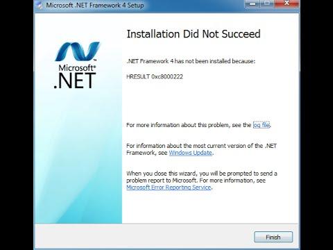 Net framework 4.0.30319 for windows 7 32 bit