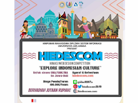 Web Design Competition HIEDESCOM 2018 di Universitas Airlangga