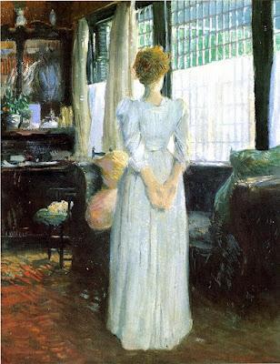 ulian Alden Weir - In the Livingroom