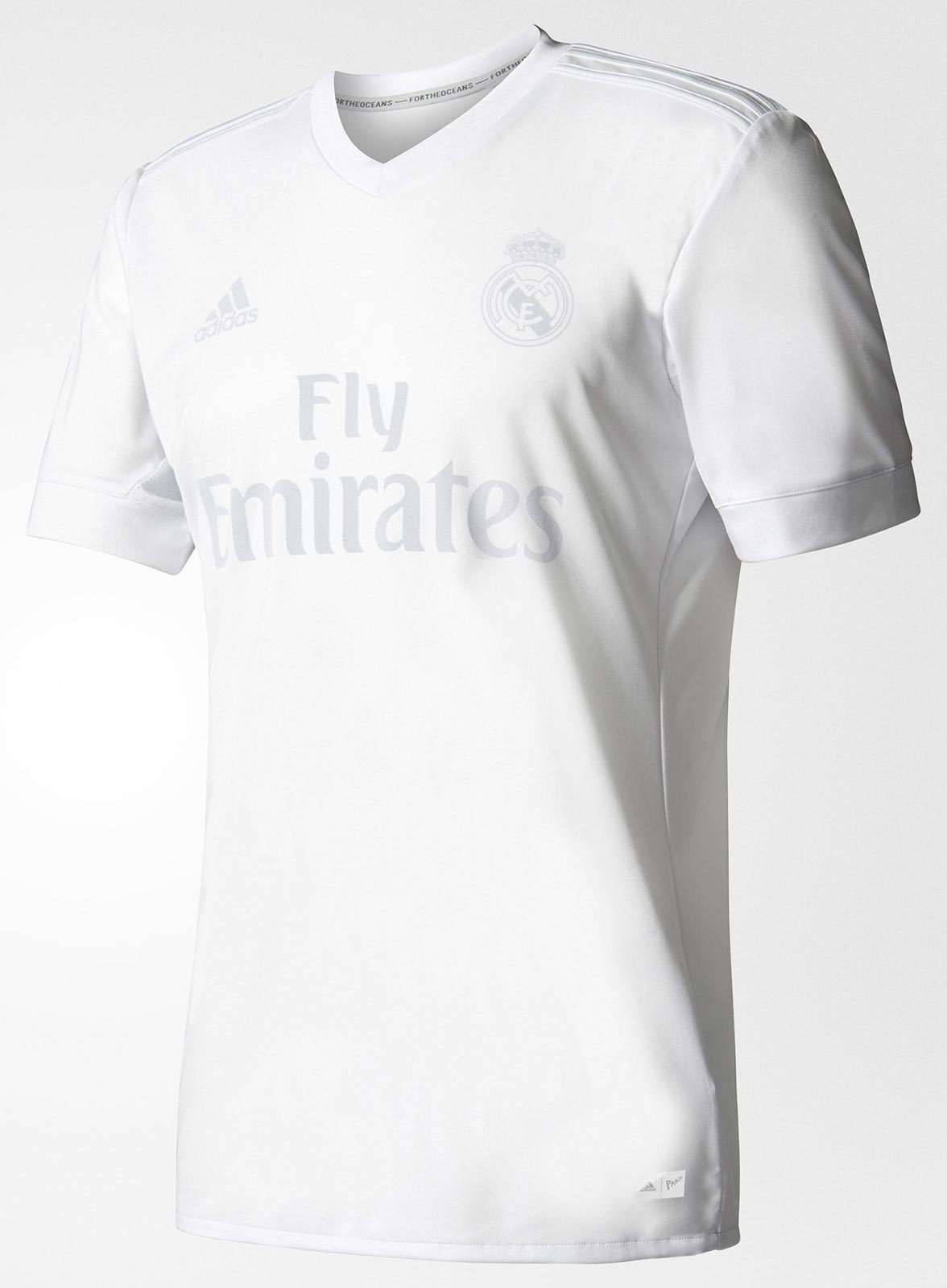 uk availability a213a 4da1a 16-17 Real Madrid Home Soccer Jersey Parley Shirt | Real ...