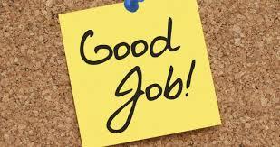 Appreciation, Imprortance, Good, Job