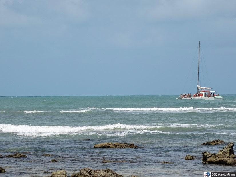 Baía dos Golfinhos - O que fazer na Praia da Pipa - Rio Grande do Norte