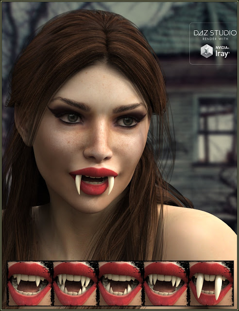 EJ Teeth Collection for Genesis 8 Female