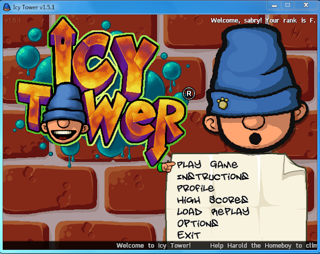 تحميل لعبة الرجل النطاط icytower للكمبيوتر من ميديا فاير