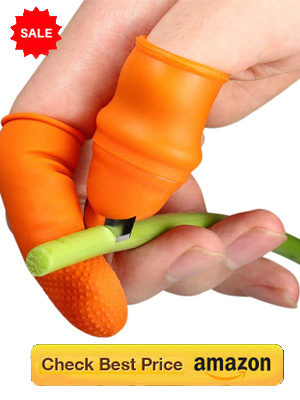 Kitchen Thumb Tool : Fruit and Vegetable cutter