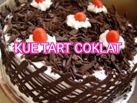 Cara membuat kue tart coklat praktis