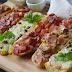 Paninis caseros (pizza rápida de pan)
