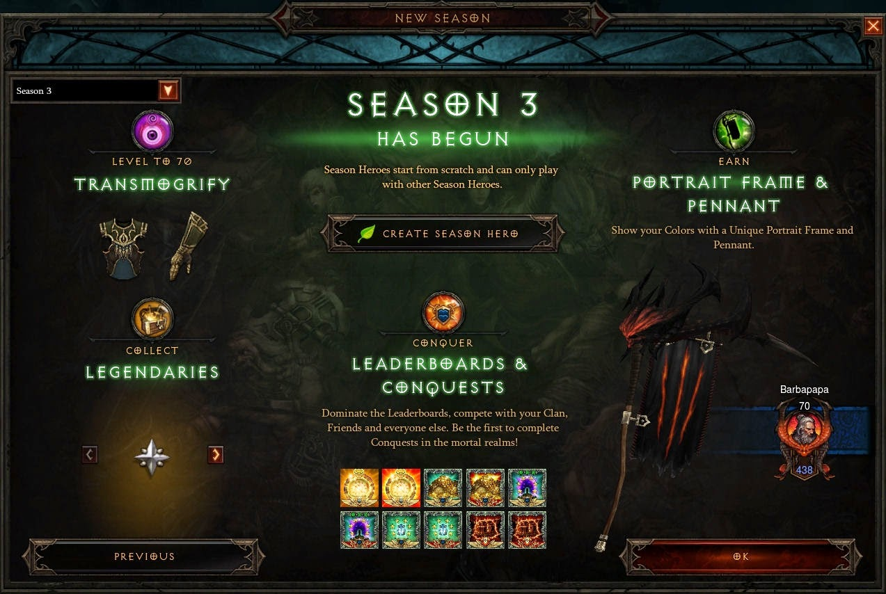 Nobbies Gaming Blogs Diablo 3 The Legendary Items Of Season 3