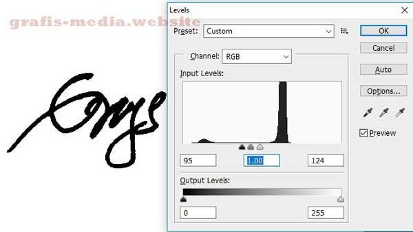 sebab sanggup membantu pembuatan berkas secara cepat dan lebih mudah Cara Membuat Tanda Tangan (Digital Signature) Di Photoshop