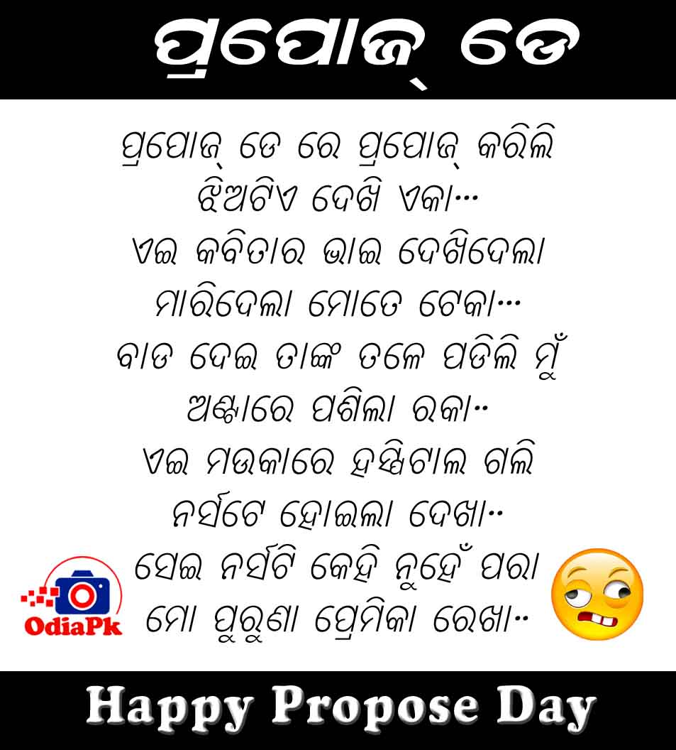 Propose Day Odia Wallpaper, Shayari SMS, ProposeDay Funny