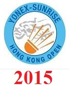 Yonex-Sunrise Hong Kong Open 2015 live streaming and videos