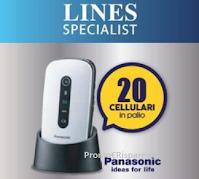 Concorso Line Specialist : da Acqua&Sapone e La Saponeria vinci 20 Cellulari Panasonic
