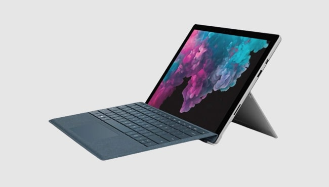 Best laptop for drawing-artists: Microsoft Surface Pro 6