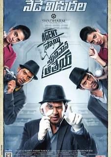 Agent Sai Srinivasa Athreya 2019 Telugu 720p WEB DL 900MB With Bangla Subtitle