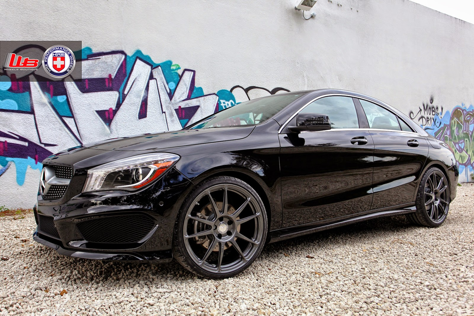 Mercedes Benz Cla On Hre P Sc By Wheels Boutique on mercedes amg black rims