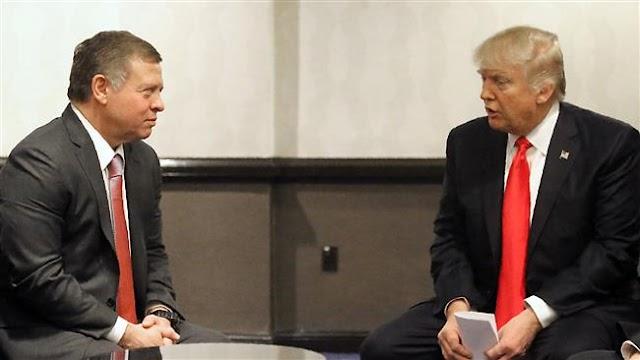 ordanian King Abdullah II warns against relocating US embassy to occupied Jerusalem al-Quds