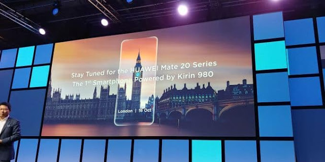 Huawei Mate 20 will be launched in London on October 16