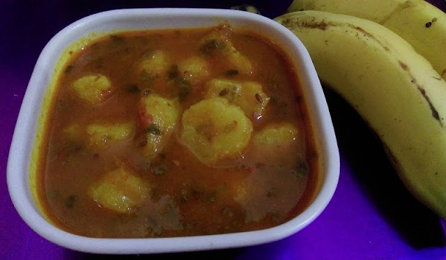 Ripe Banana Curry Recipe | Kele ki sabji | How to make Ripe Banana Curry