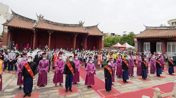 彰化祭孔循古禮獻六佾舞 祝福教師節快樂
