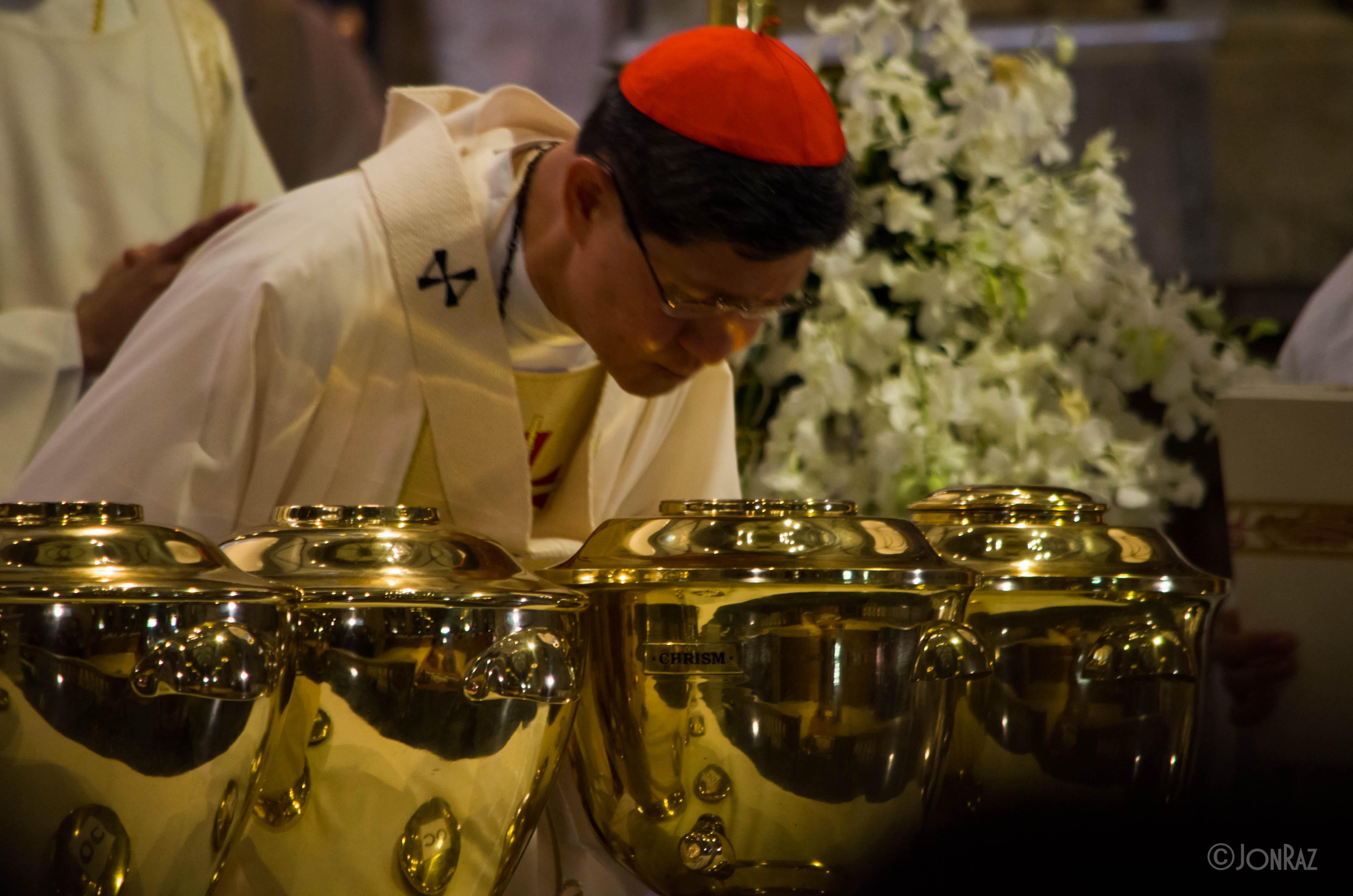 Chrism Mass at Manila Cathedral 2017