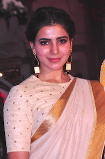 Samantha Ruth Prabhu in Traditional Saree at Gudi Sambaralu