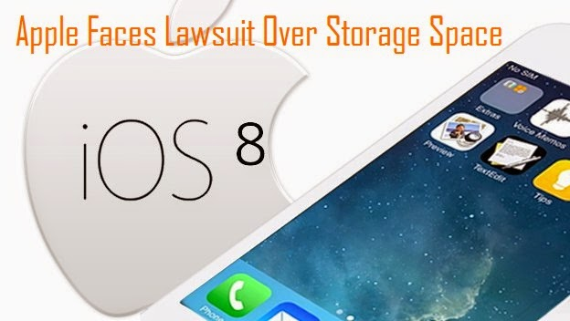 Apple Faces Lawsuit Over Storage Space