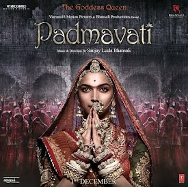 Bollywood movie poster of Padmavati, Sanjay Leela Bhansali's next production | Padmavati Release date: 1 December 2017 || Budget: 160 Crores