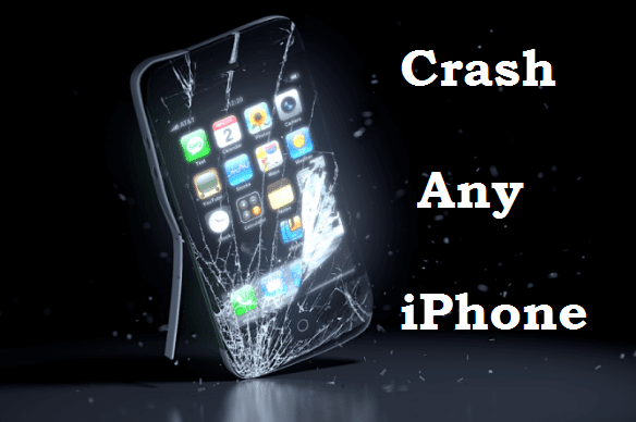 Crash Any iPhone To Send A Contact File Message