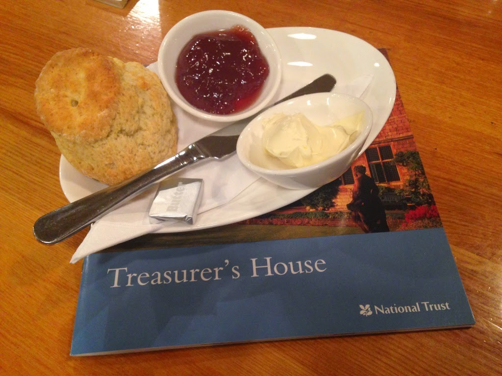 Treasurer's House scone