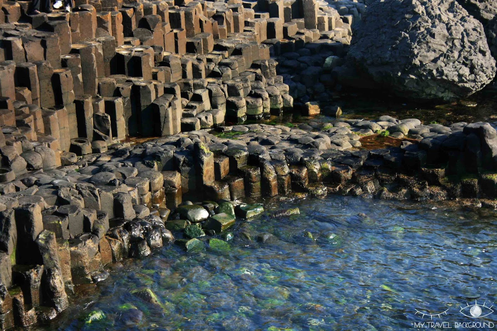 My Travel Background : Along the wild atlantic Way, Irlande du Nord - The Giants Causeway, la Chaussée des géants