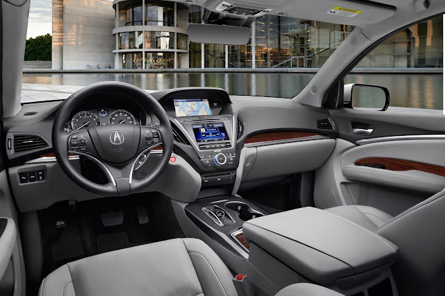 Interior of 2017 Acura MDX AWD Advance