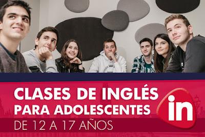 Clases de Inglés para adolescentes en Zaragoza