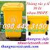 Thùng rác y tế 30 lít màu vàng - chất thải nguy hại lây nhiễm