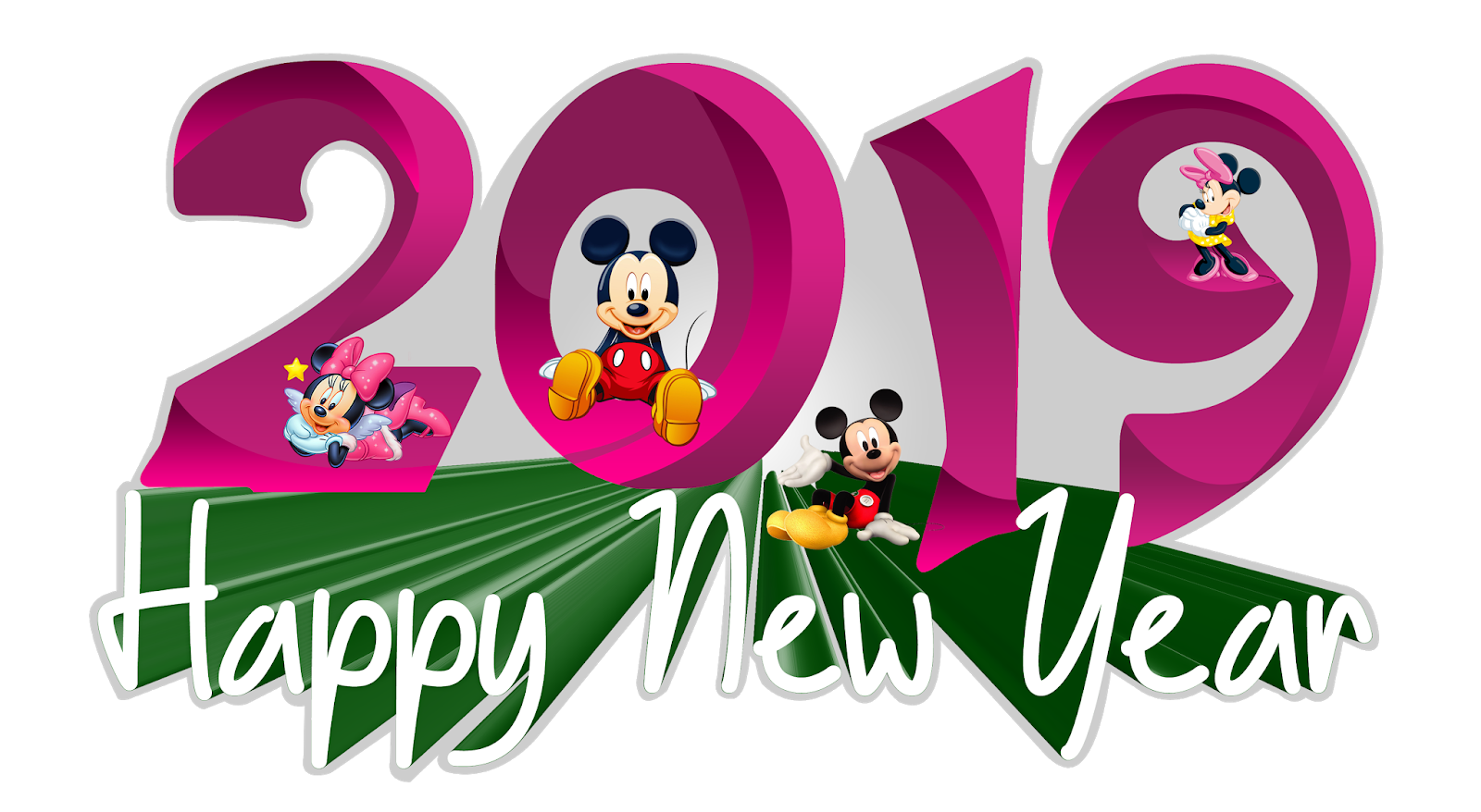 2019 Happy New Year Transparent PNG Pictures | naveengfx