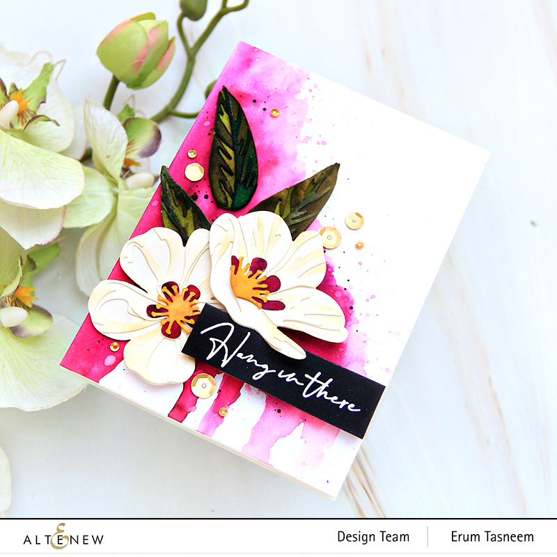 Altenew Craft-A-Flower: Cistus Layering Die Set | Erum Tasneem | @pr0digy0