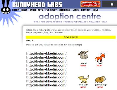 Cara menambahkan hewan kedalam blog2