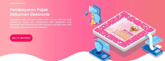 Meterai Digital (E-Meterai) Sudah Dapat dibeli Dan Digunakan