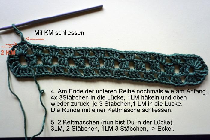 Mit Hand Und Herz Anleitung Für Eine Rechteckige Granny Decke