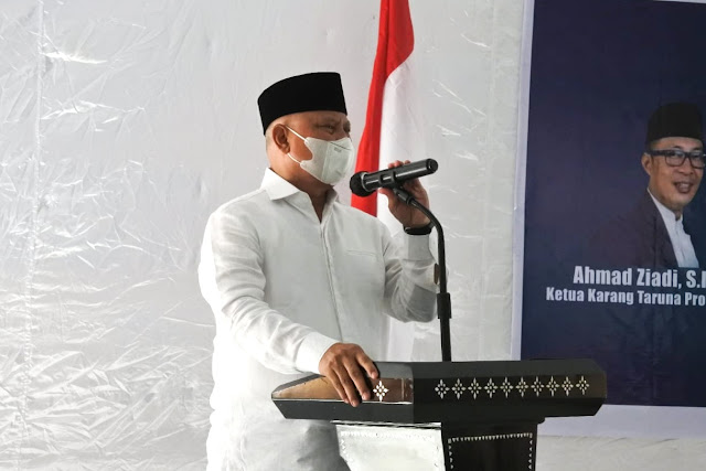 Lantik Karang Taruna Lombok Timur, ini pesan bupati