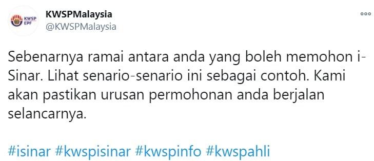 cara mohon kwsp i-sinar daftar i-akaun kwsp online