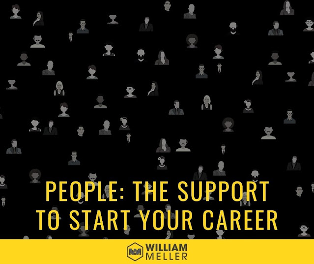 People: the support to start your career